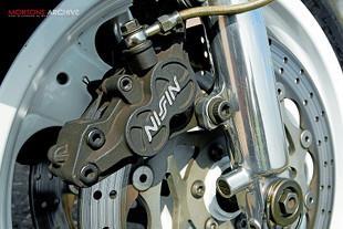 Yamaha 0W01 brakes