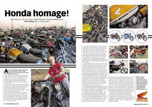 Honda homage