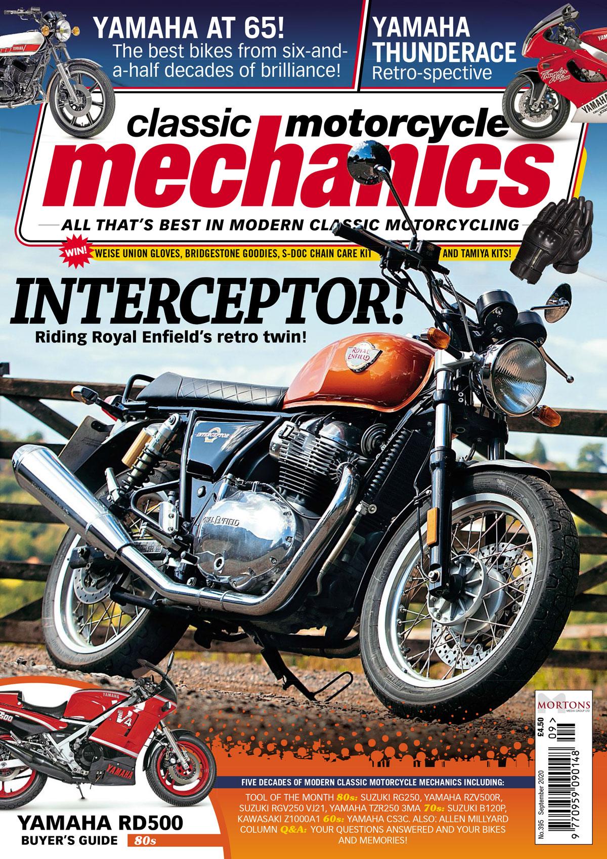 Classic Motorcycle Mechanics cover