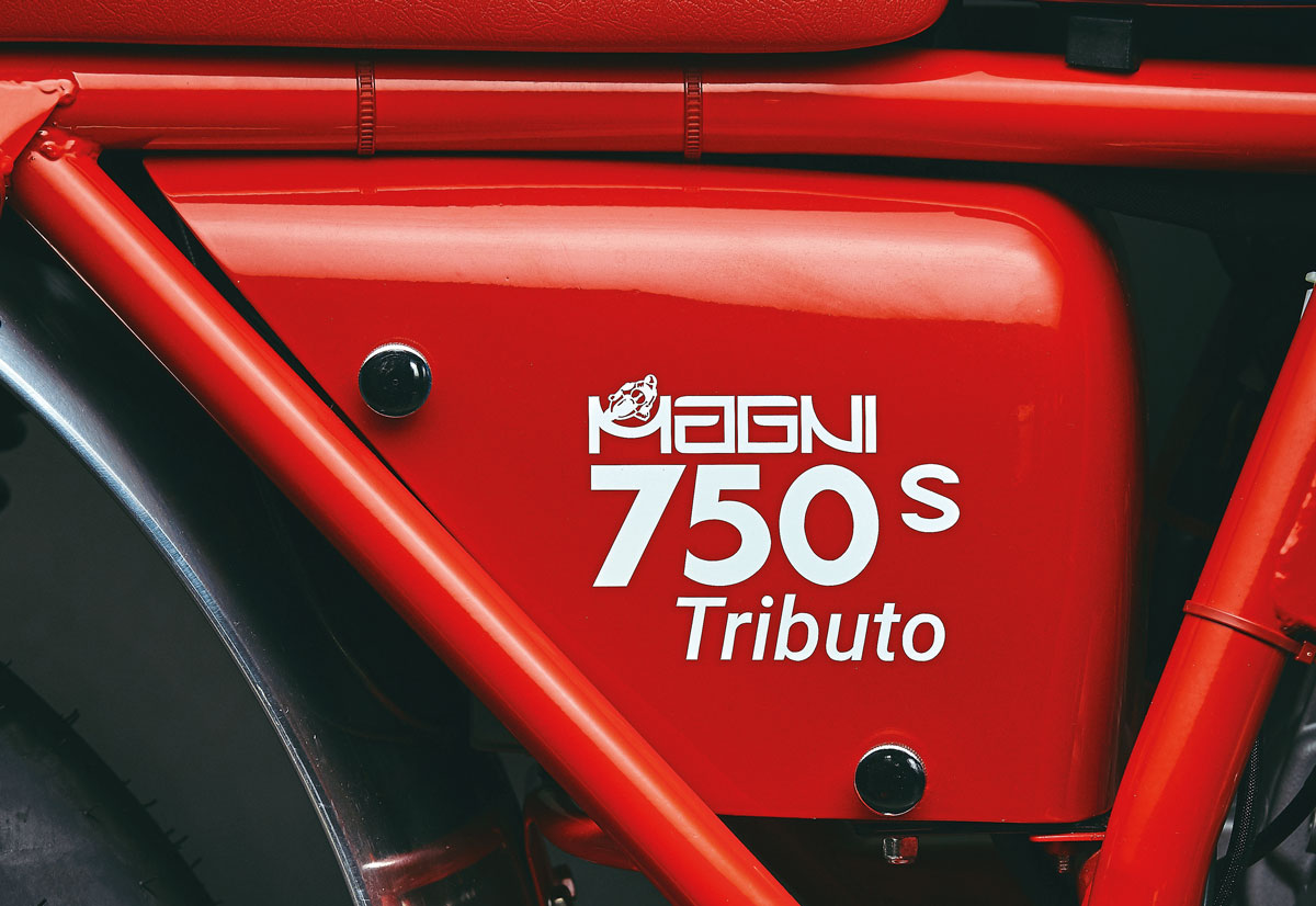 Magni MV Agusta 750S Tributo test