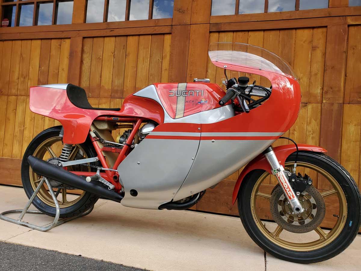 Rare 1978 Ducati NCR