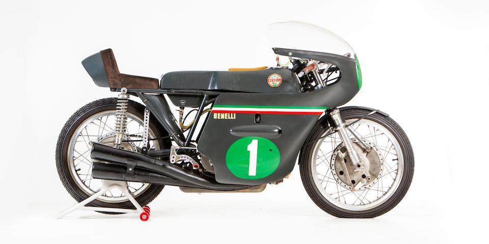 Benelli 250cc Grand Prix motorcycle