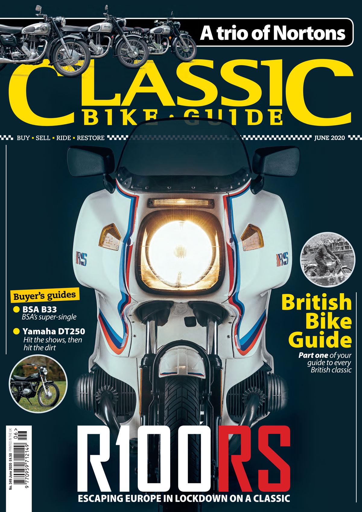 Classic Bike Guide cover