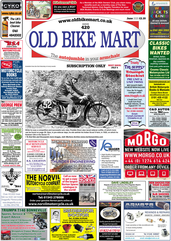 Old Bike Mart June cover