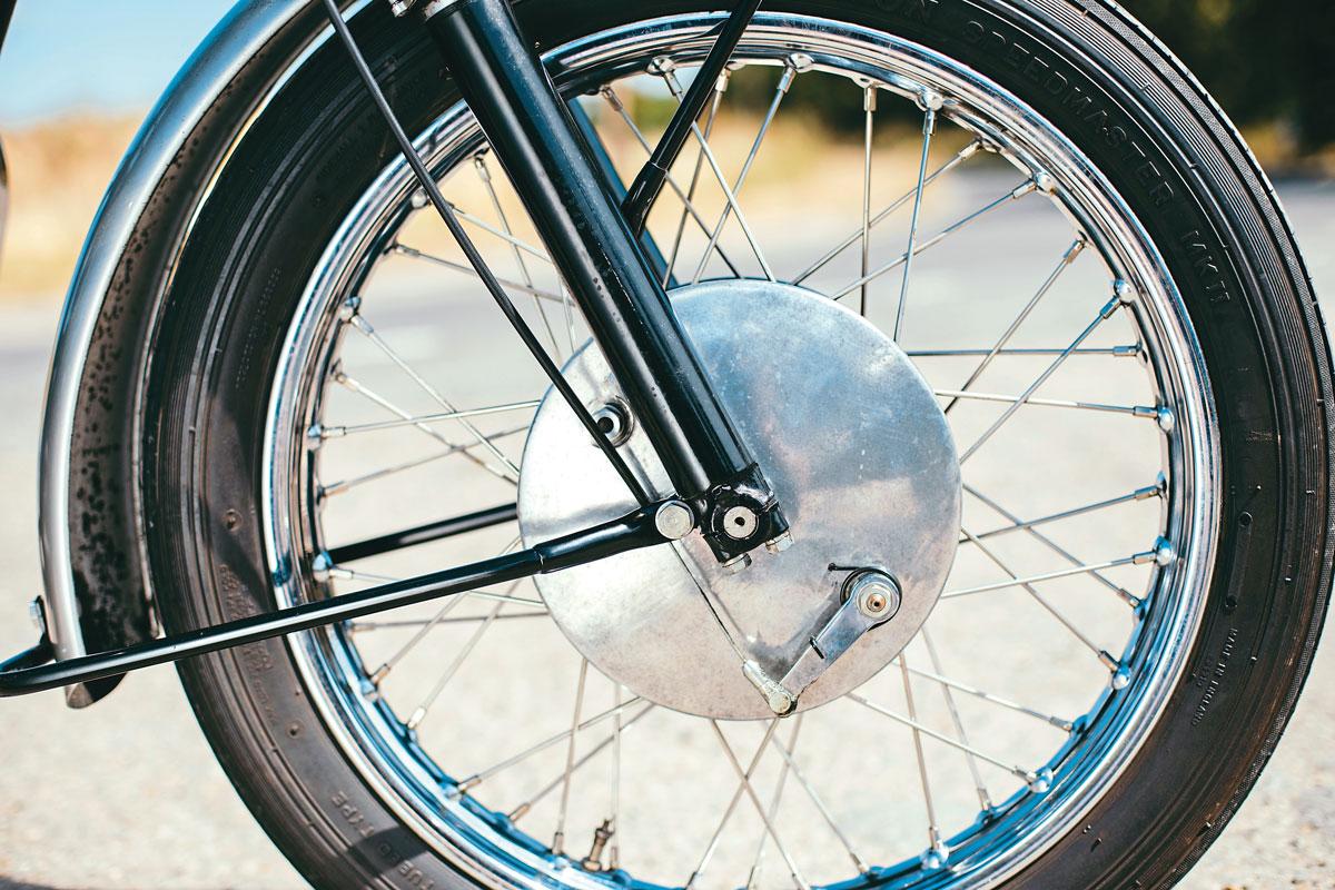 T120 Bonneville wheel