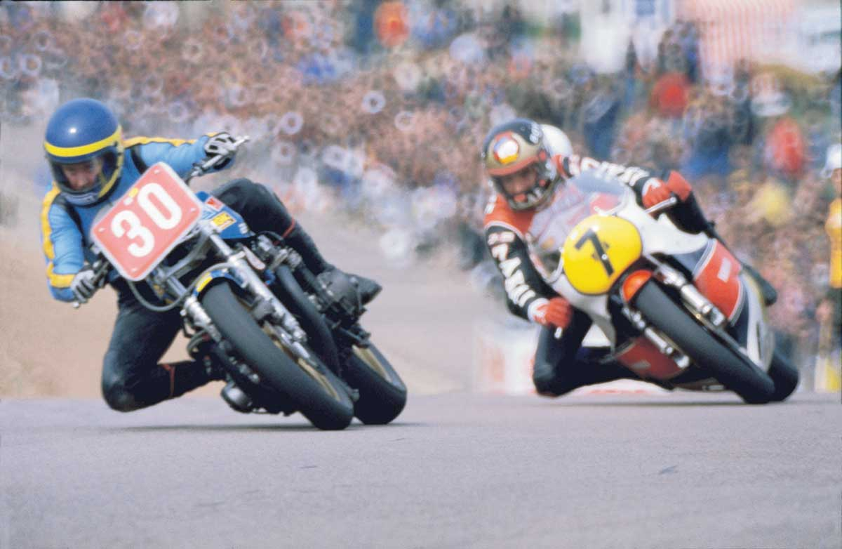 Barry Sheene at 1979 British Grand Prix