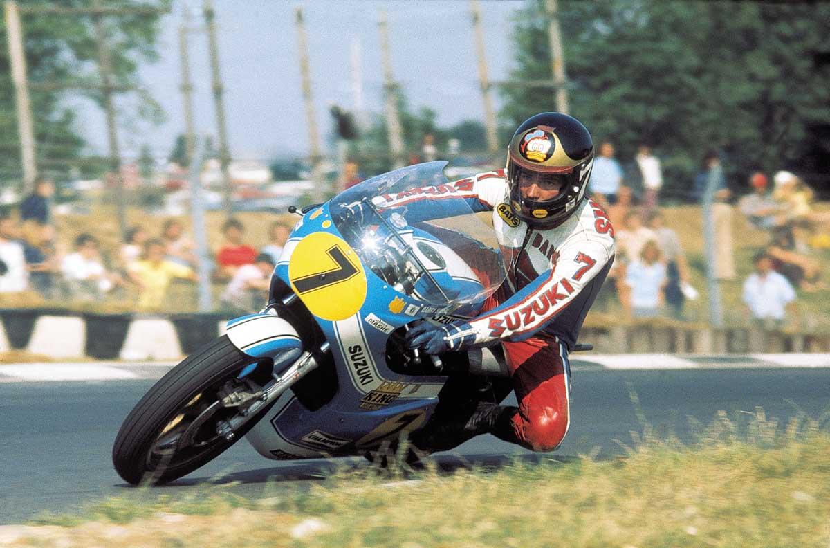 Barry Sheene Daytona 1975
