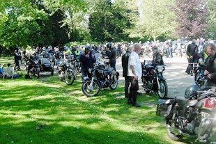 Over 300 riders attended International Jampot Rally