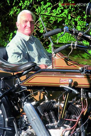1923 James Model 10 with sidecar