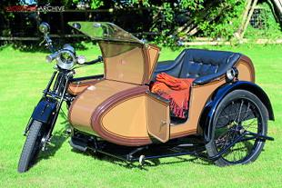 James Model 10 with sidecar