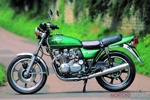 Kawasaki Z650 Japanese motorcycle