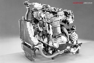 Kawasaki GPZ600R motorcycle engine