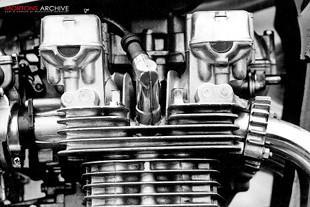 Kawasaki motorcycle engine