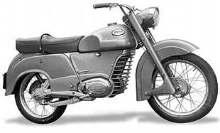 1955 Koehler-Escoffier motorcycle was a thinly disguised Monet-Goyon at this stage