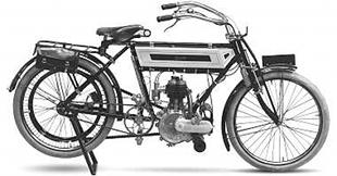 1910 Lincoln Elk classic motorcycle used a sidevalve engine