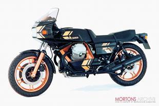 Moto Guzzi Le Mans motorcycle