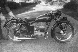 1949 road-going 125cc two stroke MV Agusta