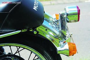 1977 Moto Guzzi S3 classic Italian motorcycle
