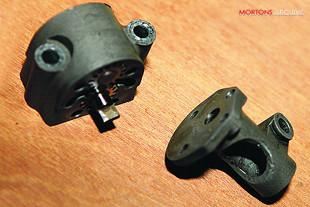 Motorcycle oil pump