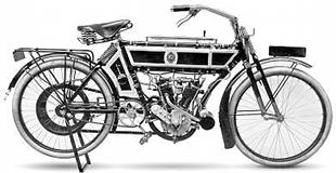 By 1910 things had progressed and NSU were making machines like this impresisve v-twin