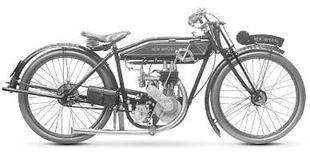 1922 New Imperial three-speed Sports was based upon a machine used by Doug Prentice