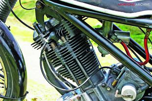 Panther-Norton motorcycle special