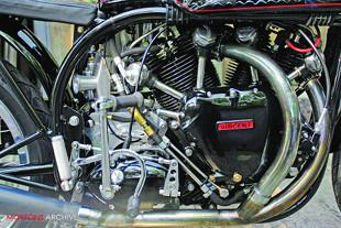 Norvin cafe racer engine