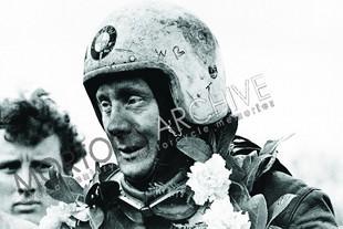 Sidecar racer Pip Harris