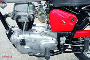 Royal Enfield Continental GT engine