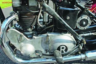 Rudge Eilster motorcycle engine