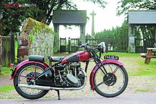 Rudge Ulster 1938 classic motorcycle