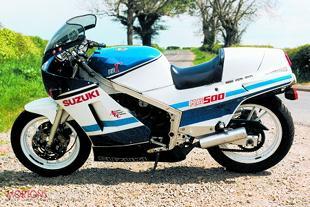 Suzuki RG500 motorcycle