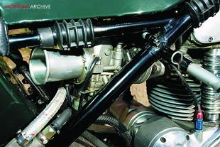 1968 Seeley-Velocette Thruxton engine