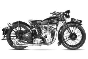 1935 250cc ohv 'high cam' Sunbeam classic motorcycle