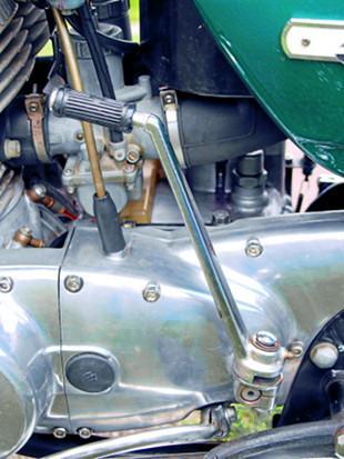 Suzuki T500 engine