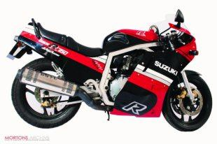Suzuki GSX750R was a thinly disguised racer for the road