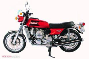 Rotary-engined RE5 Suzuki classic motorcycle