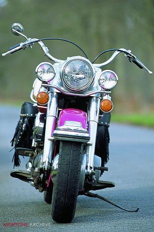 Harley-Davidson Electra Glide road test