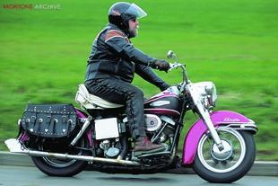 Harley-Davdison Electra Glide road test