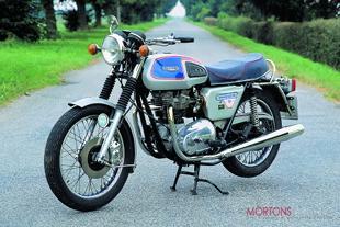 Triumph T140E Bonneville motorcycle