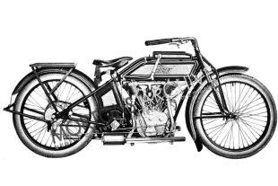 Thor v-twin classic motorcycle
