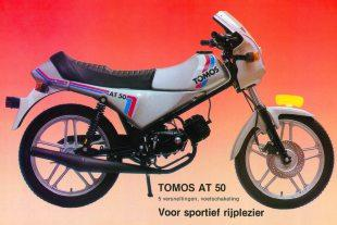 Yugoslavian firm Tomos AT 50 moped