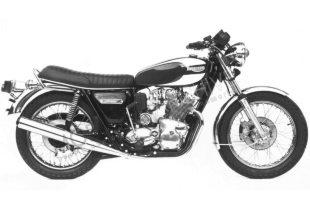Triumph T160V Trident classic motorcycle, three cylinder 750cc