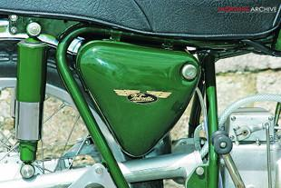 Velocette LE-Valiant special motorcycle