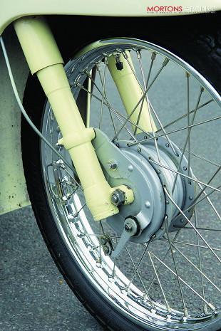 Velocette Vogue front brake