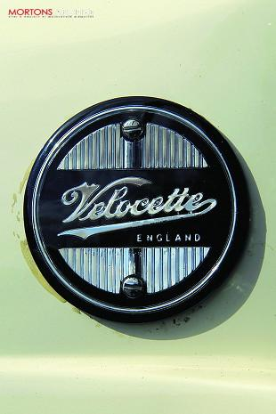 Velocette Vogue motorcycle badge