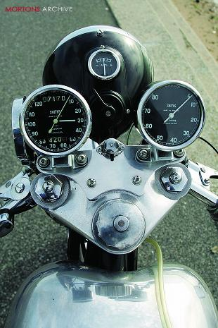 Tribsa motorcycle instruments
