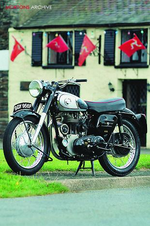 Norton ES2 490cc single cylinder classic motorcycle