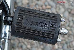 Norton ES2 490cc single cylinder classic British motorcycle