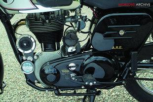 Norton ES2 490cc British single cylinder classic motorcycle